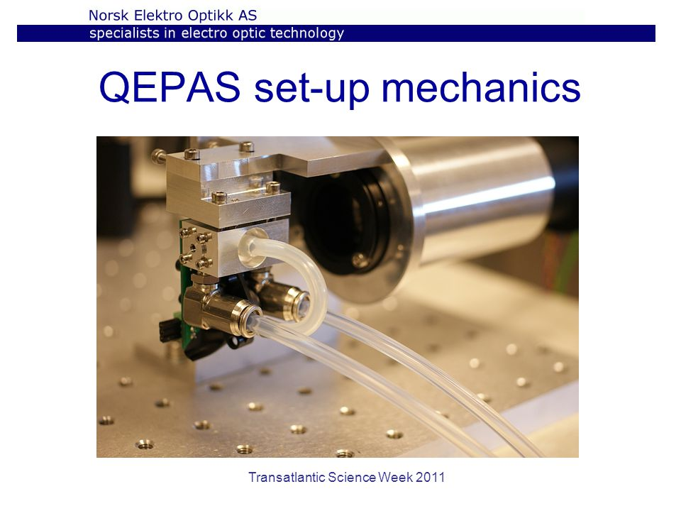 QEPAS set-up mechanics
