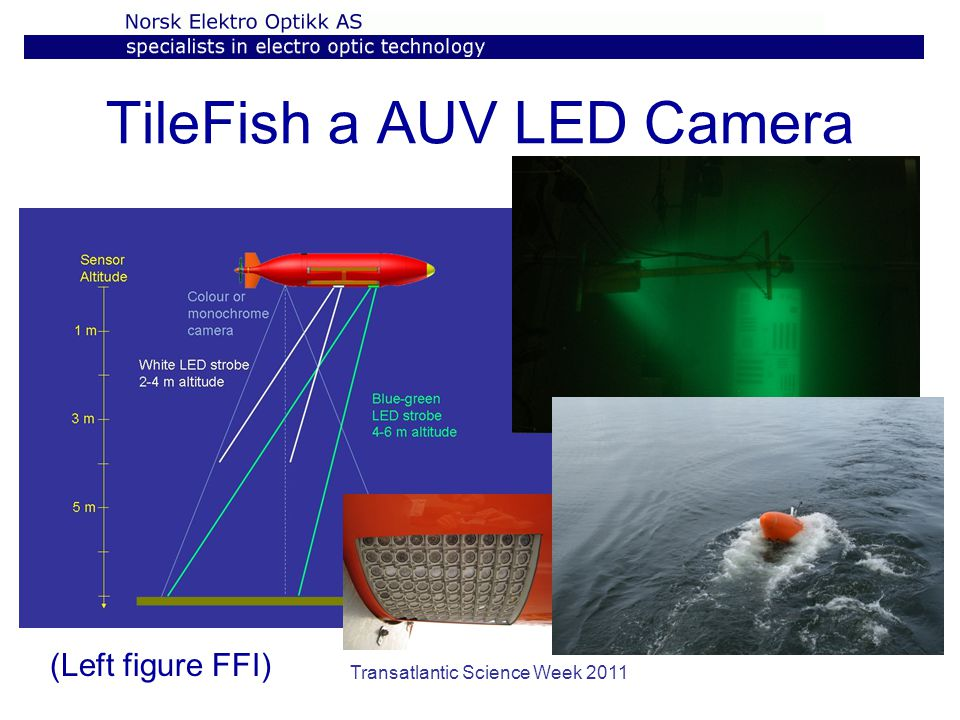 TileFish a AUV LED Camera