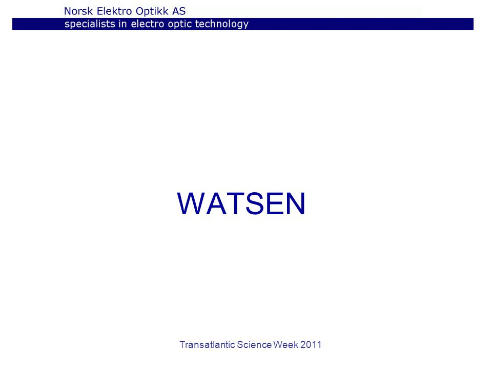 Transatlantic Science Week 2011