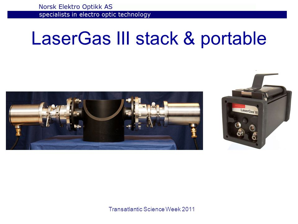 LaserGas III stack & portable