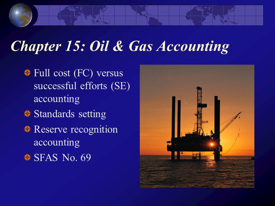 Chapter 15: Oil & Gas Accounting
