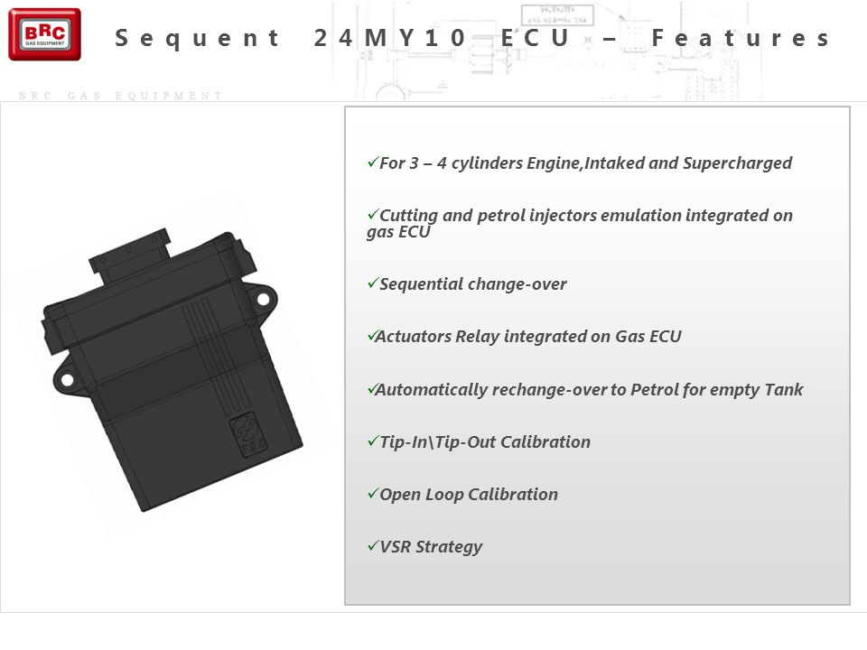 Sequent 24MY10 ECU – Features