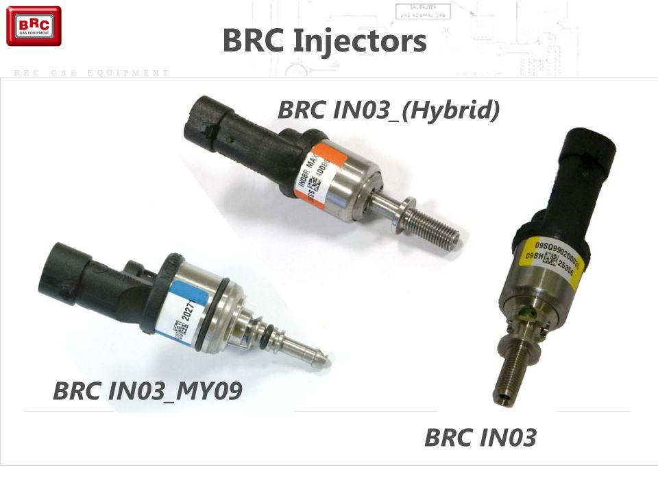 BRC Injectors BRC IN03_(Hybrid) BRC IN03_MY09 BRC IN03