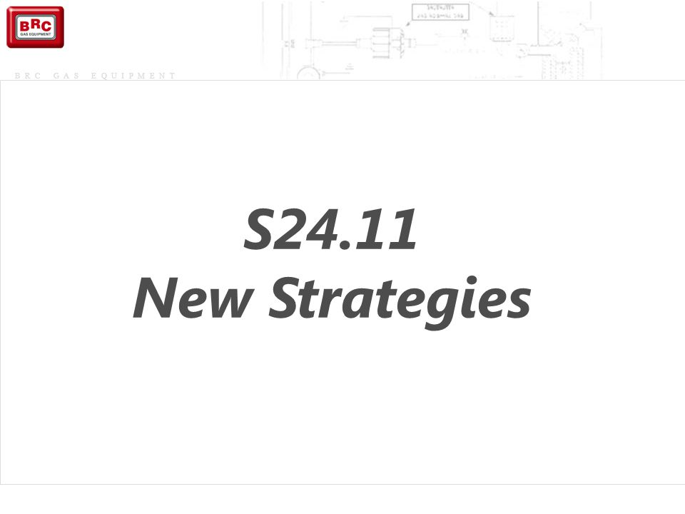 S24.11 New Strategies