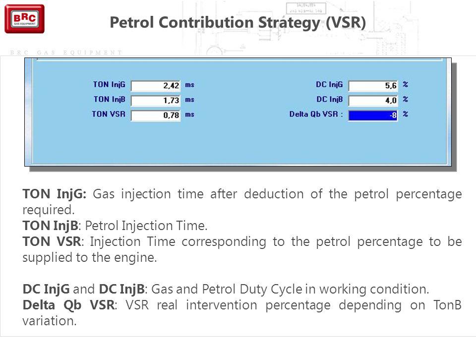 Petrol Contribution Strategy (VSR)