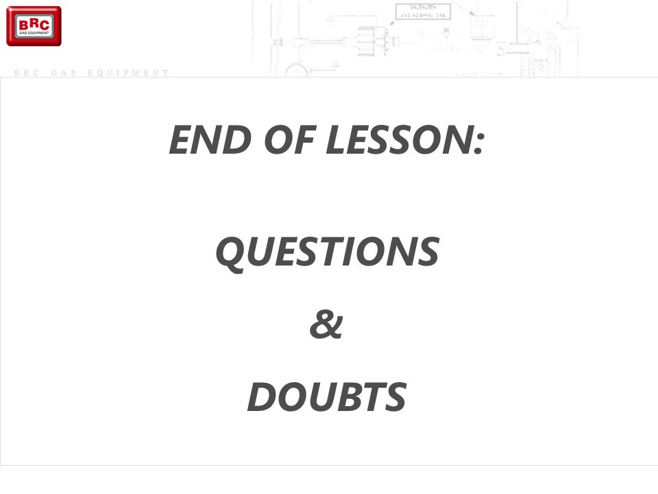 END OF LESSON: QUESTIONS & DOUBTS