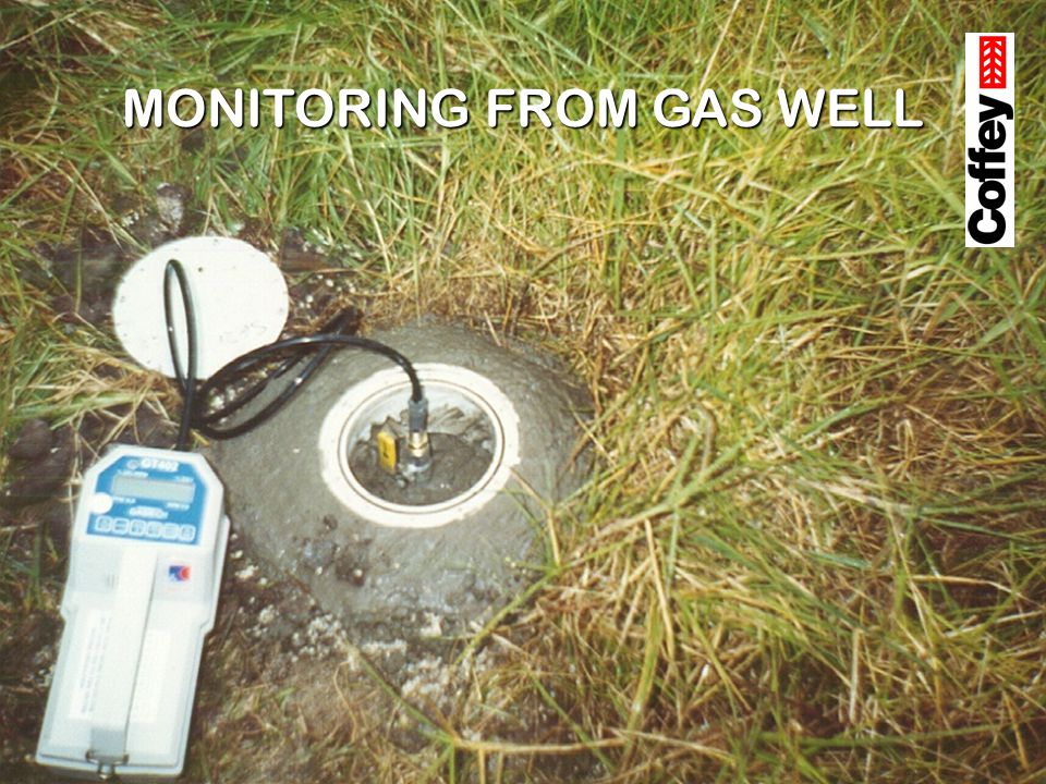 MONITORING FROM GAS WELL