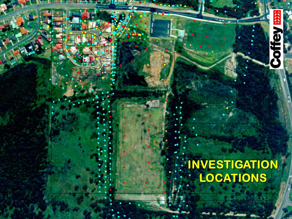 INVESTIGATION LOCATIONS