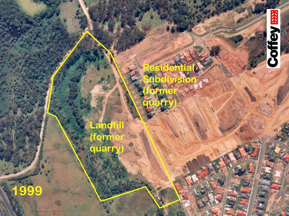 Landfill (former quarry)