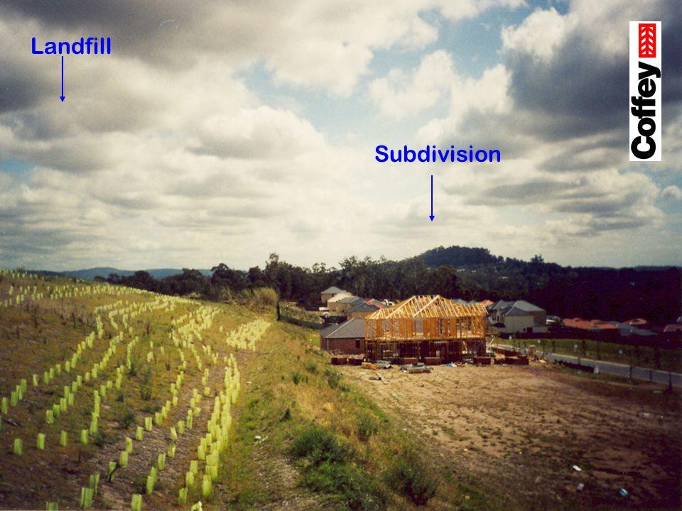 Landfill Subdivision