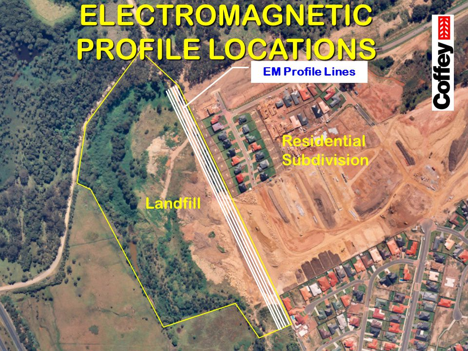 ELECTROMAGNETIC PROFILE LOCATIONS