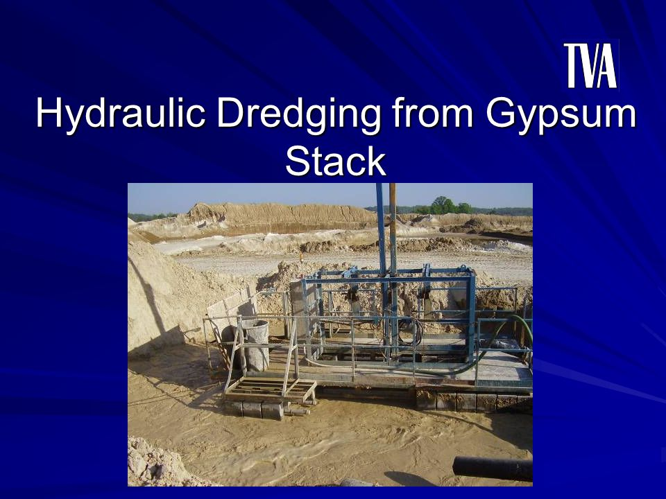 Hydraulic Dredging from Gypsum Stack