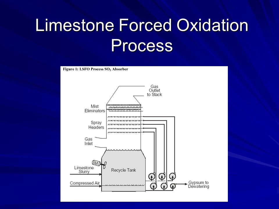 Limestone Forced Oxidation Process