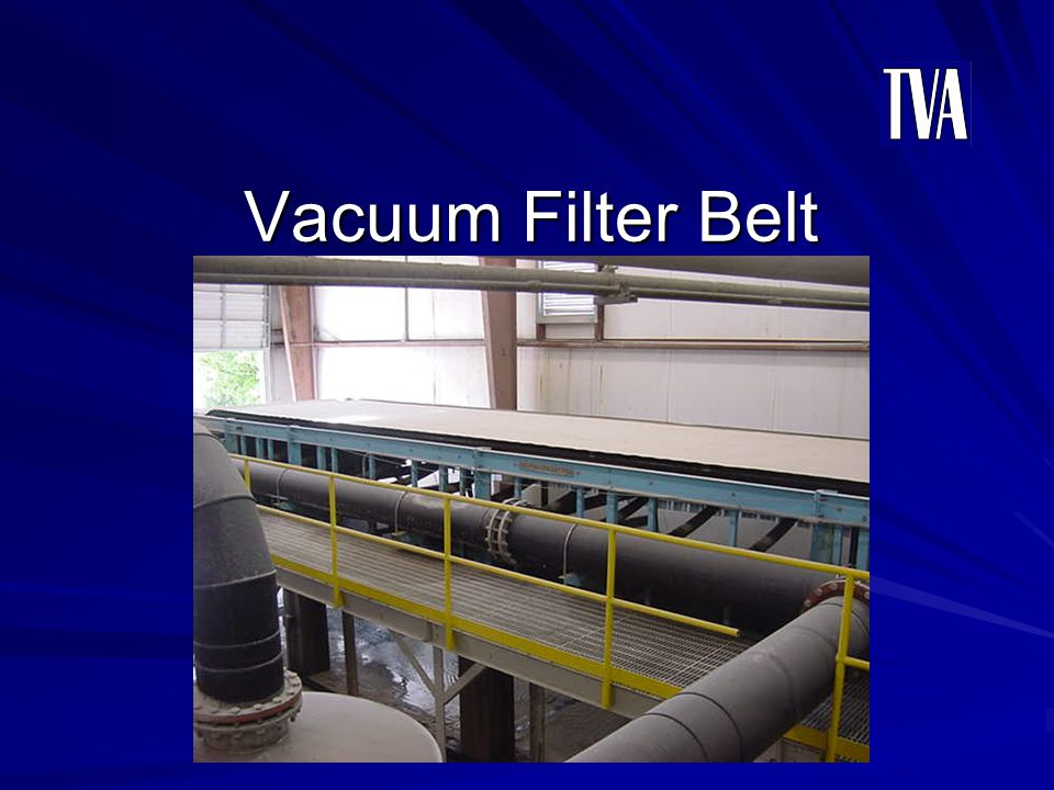 Vacuum Filter Belt