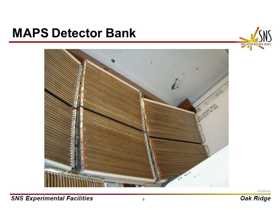 MAPS Detector Bank