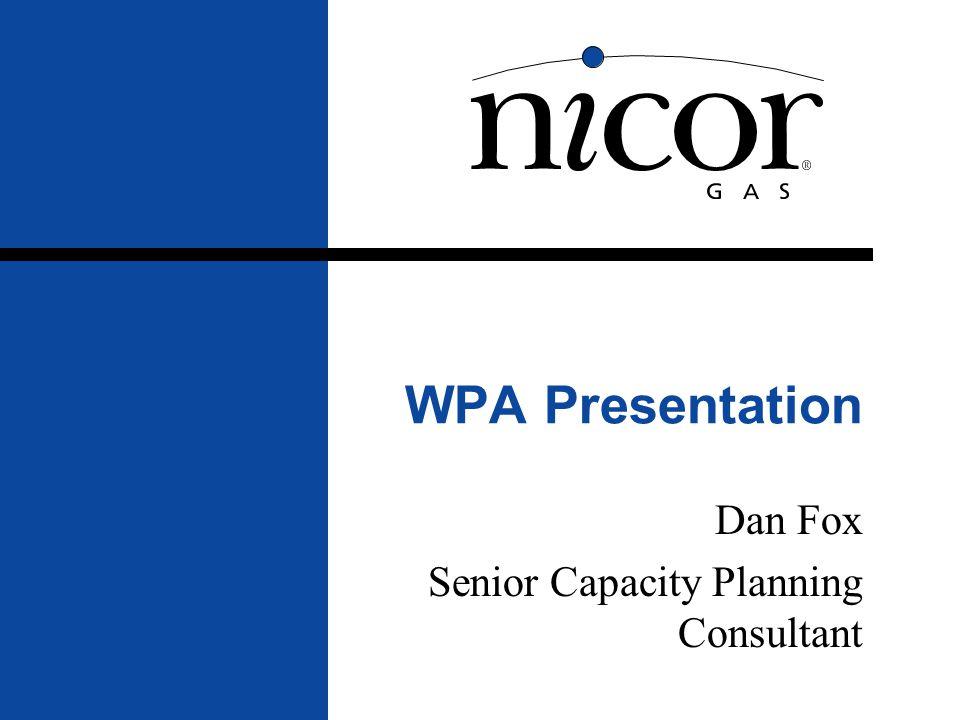 Dan Fox Senior Capacity Planning Consultant