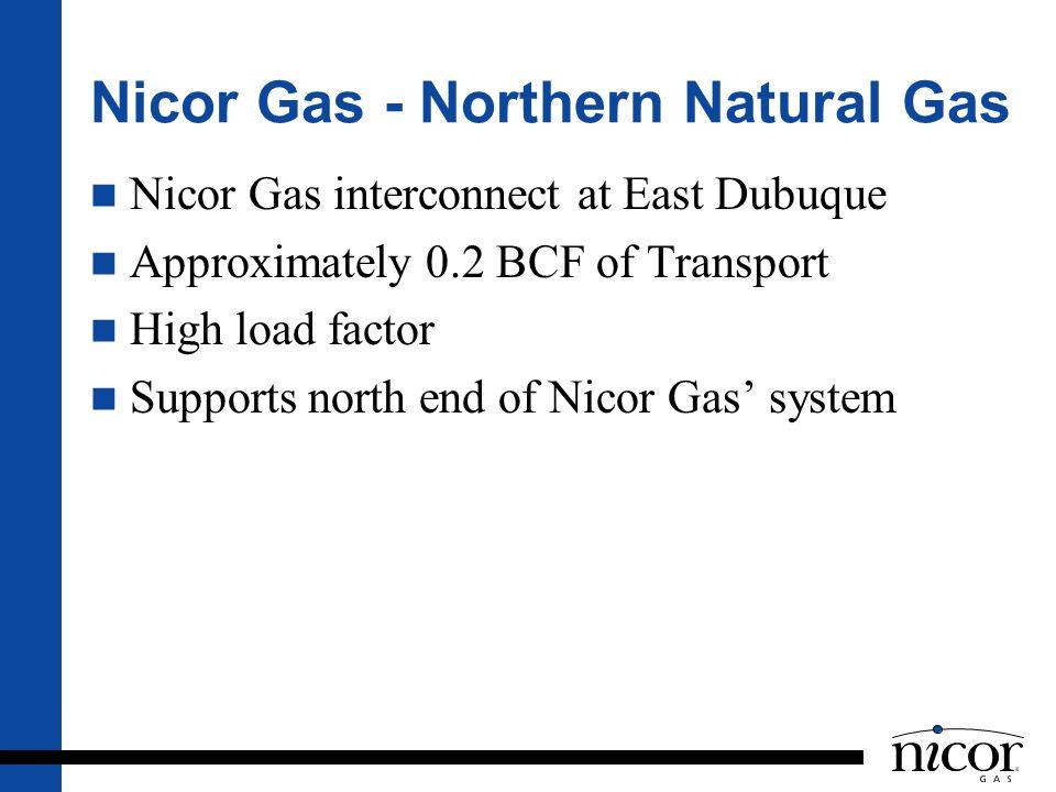 Nicor Gas - Northern Natural Gas