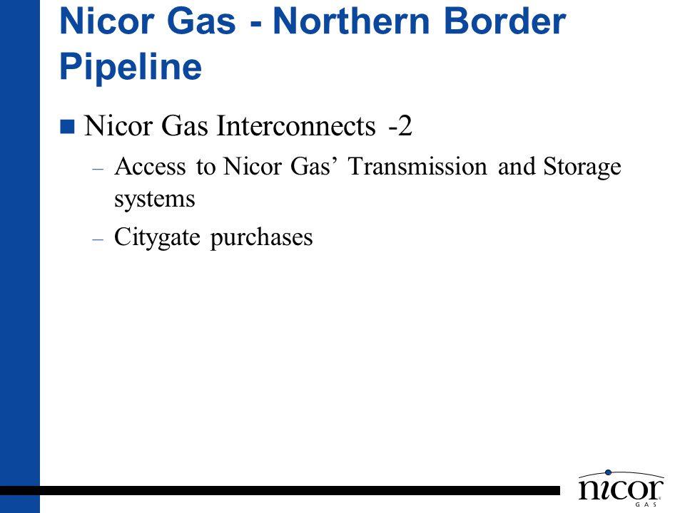 Nicor Gas - Northern Border Pipeline