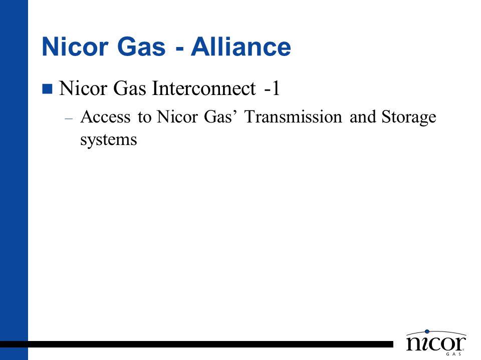Nicor Gas - Alliance Nicor Gas Interconnect -1