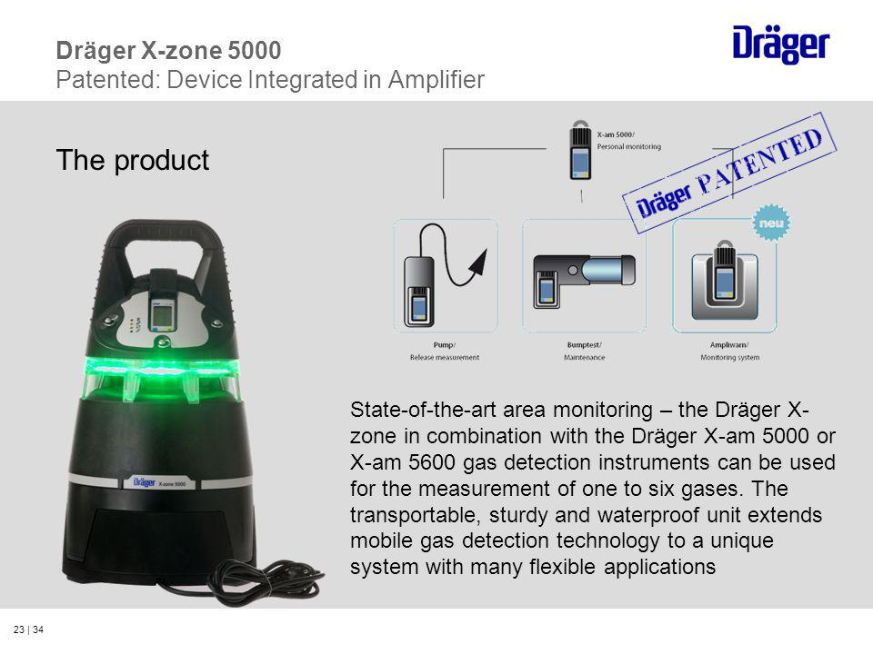Dräger X-zone 5000 Patented: Device Integrated in Amplifier