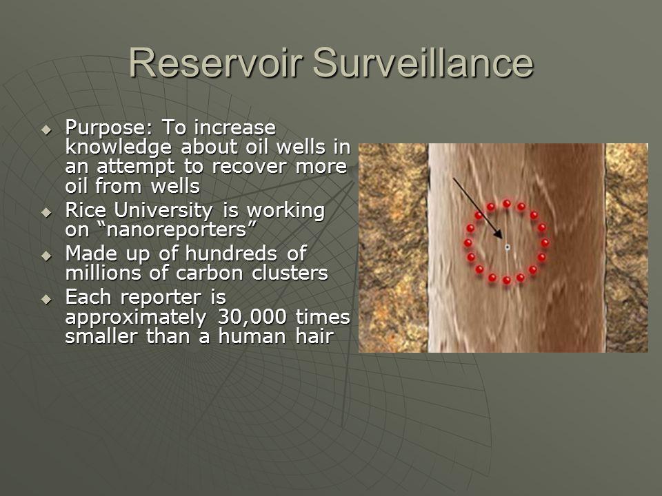 Reservoir Surveillance
