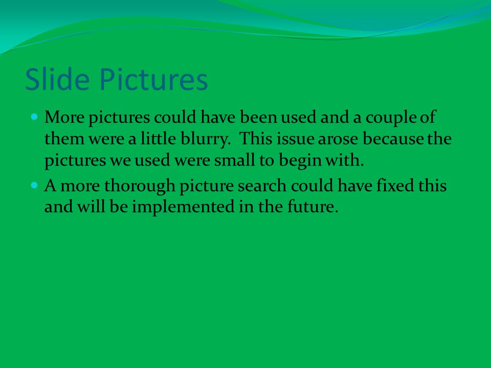 Slide Pictures