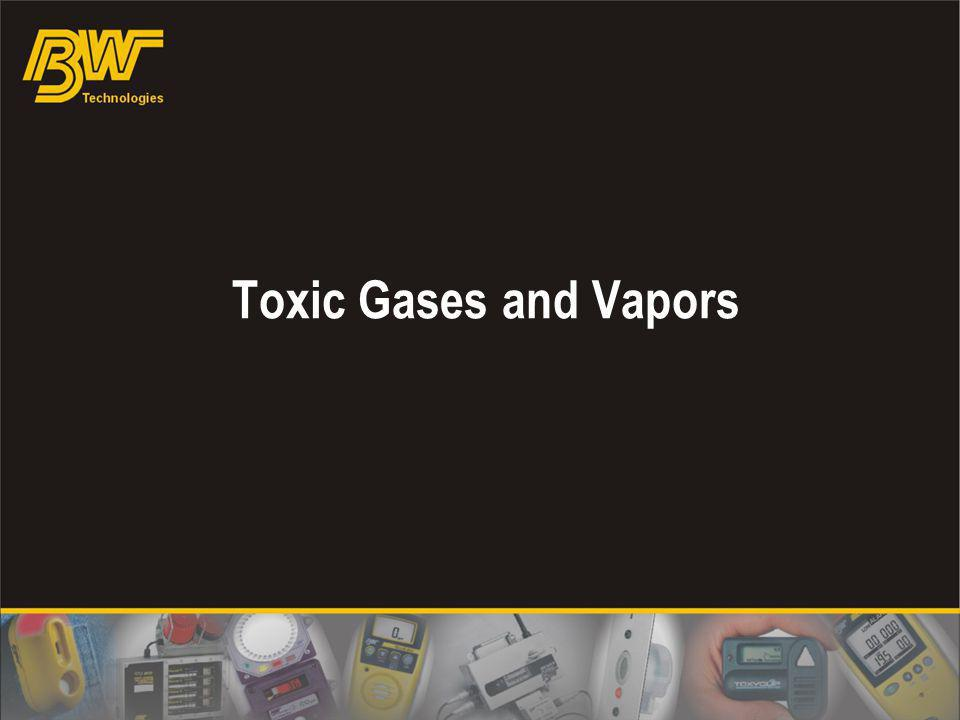 Toxic Gases and Vapors