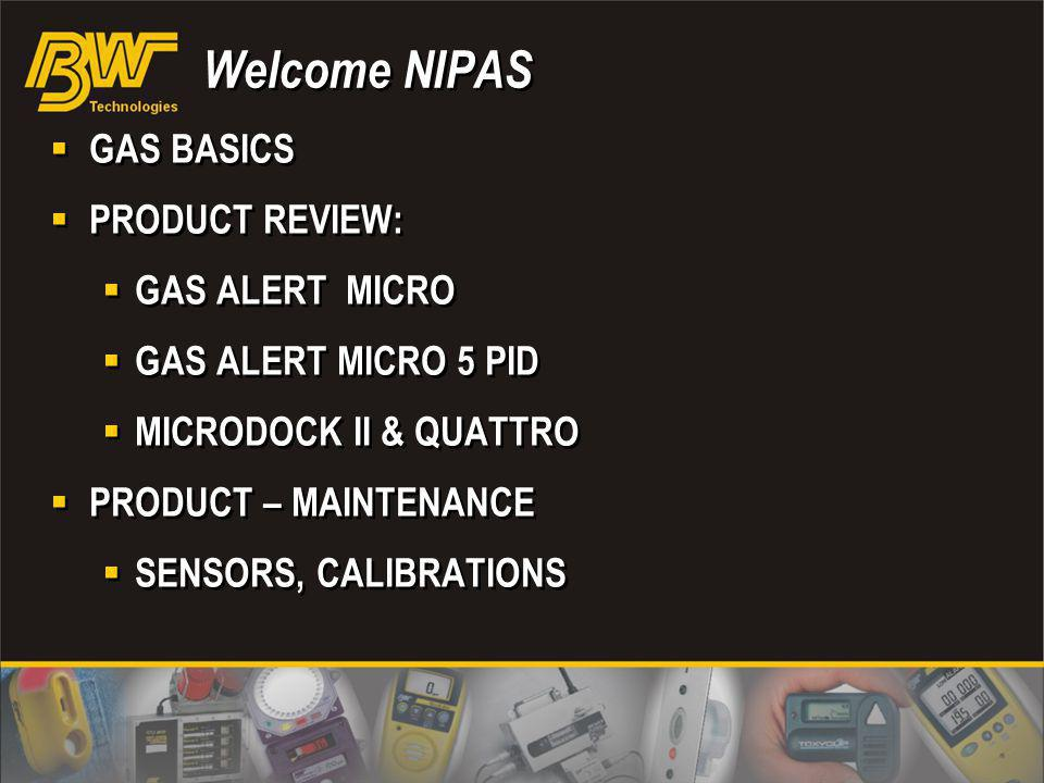 Welcome NIPAS GAS BASICS PRODUCT REVIEW: GAS ALERT MICRO