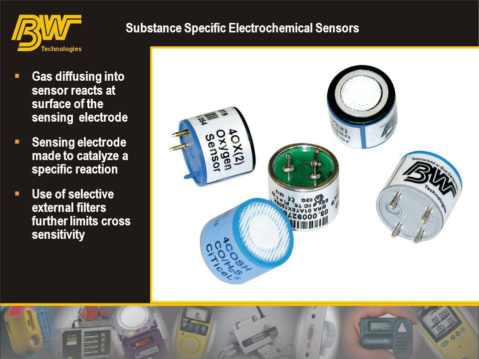 Substance Specific Electrochemical Sensors