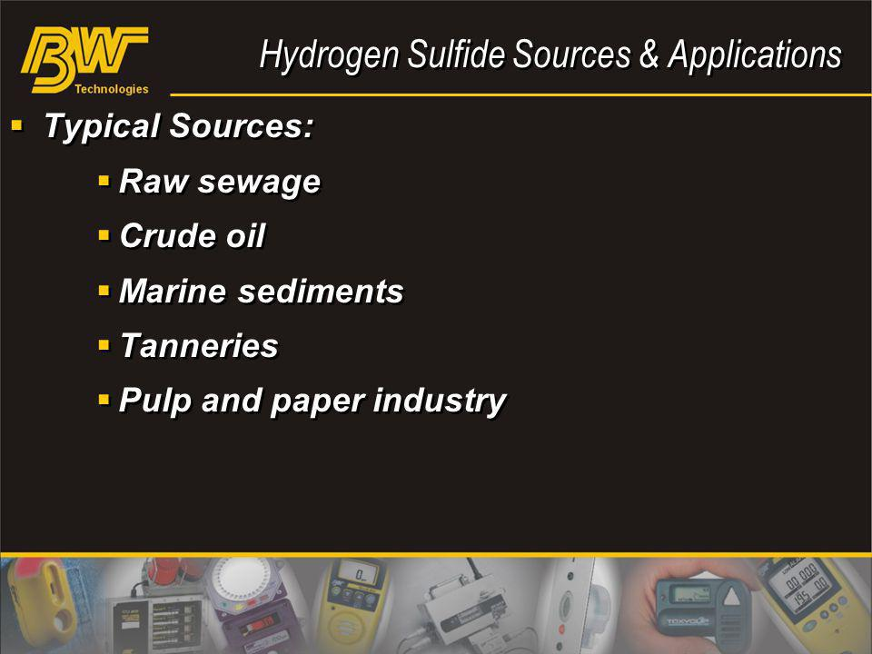 Hydrogen Sulfide Sources & Applications
