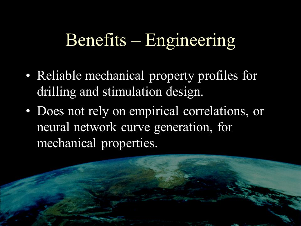 Benefits – Engineering