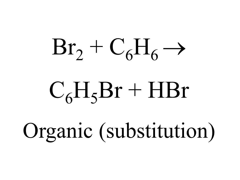 Organic (substitution)