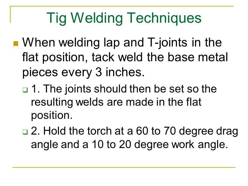 Tig Welding Techniques