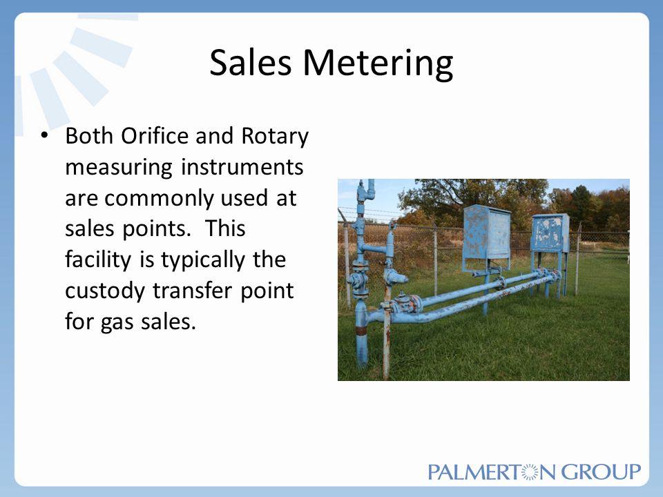 Sales Metering