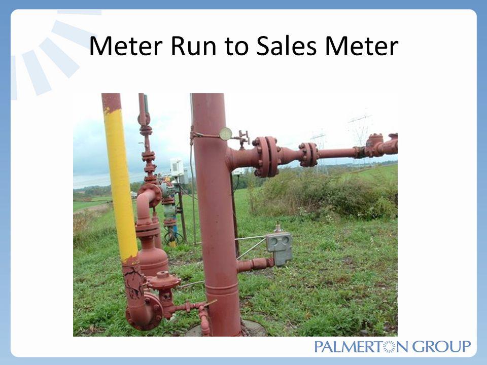 Meter Run to Sales Meter