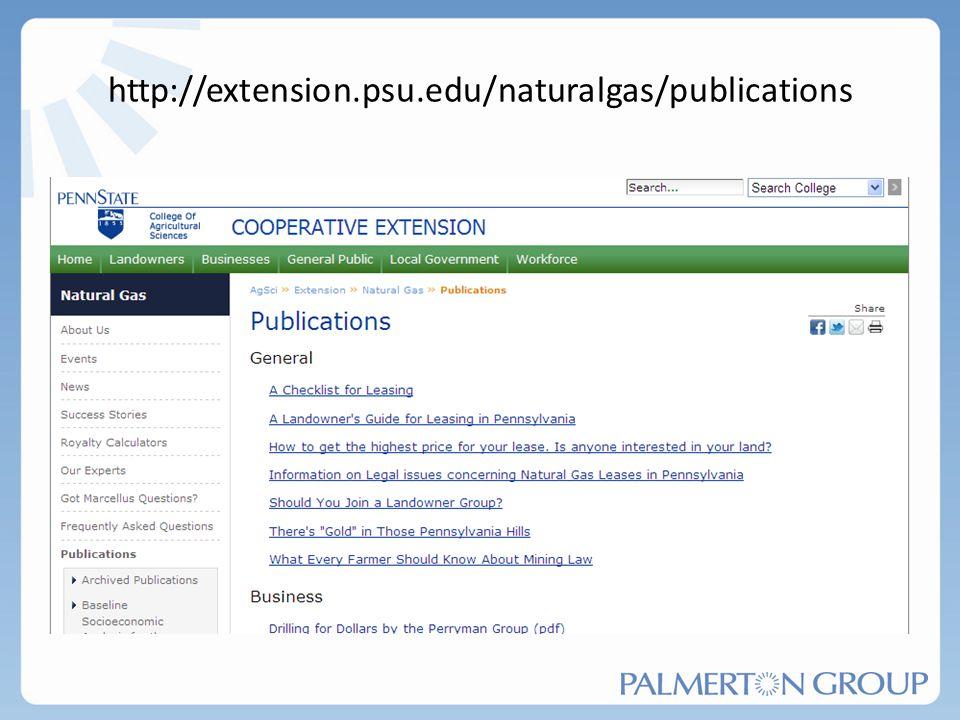 http://extension.psu.edu/naturalgas/publications