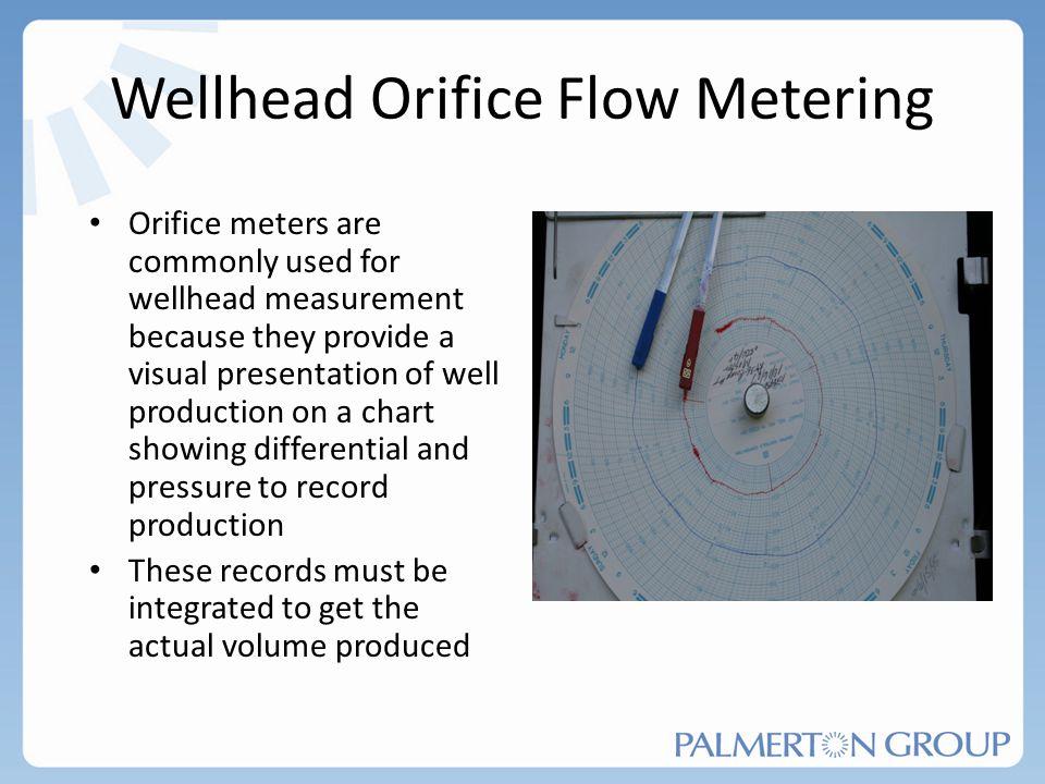 Wellhead Orifice Flow Metering