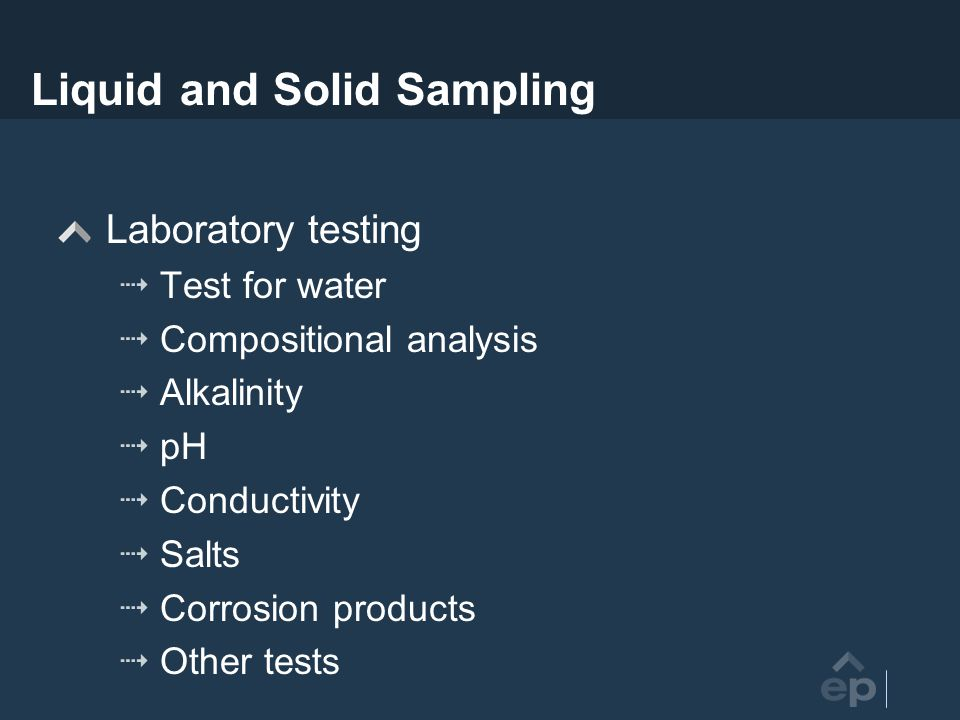 Liquid and Solid Sampling