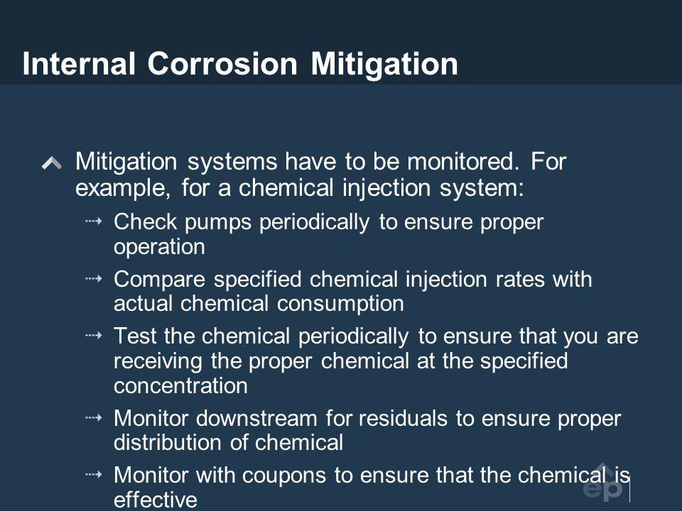 Internal Corrosion Mitigation