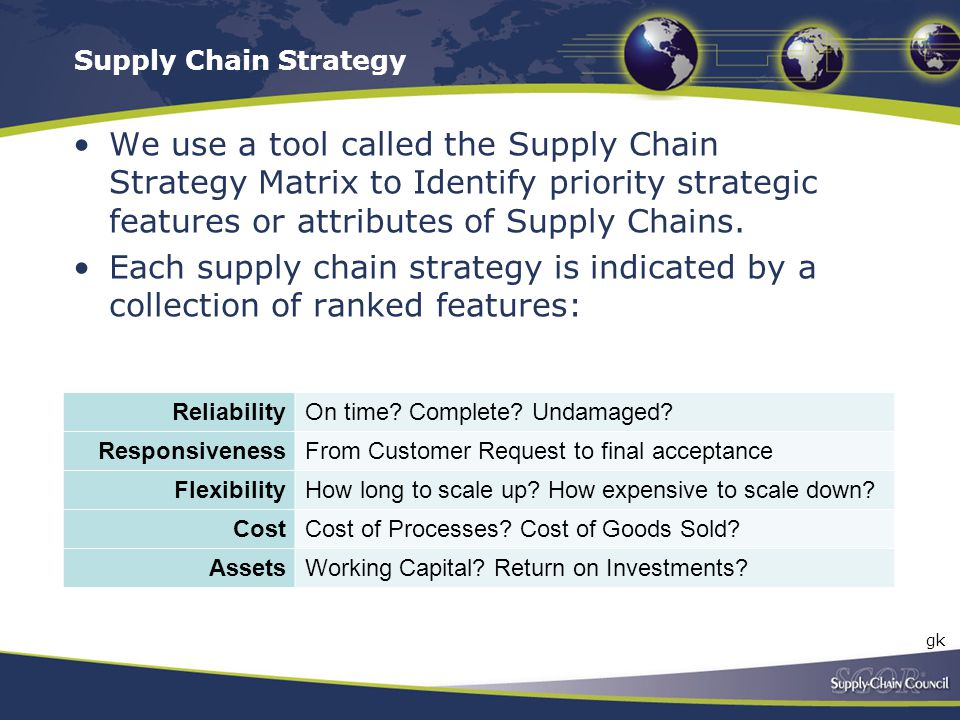 Supply Chain Strategy Transcription.
