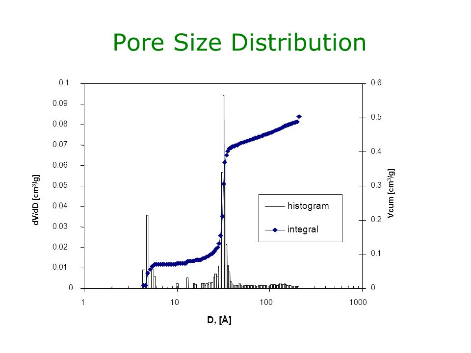 Pore Size Distribution