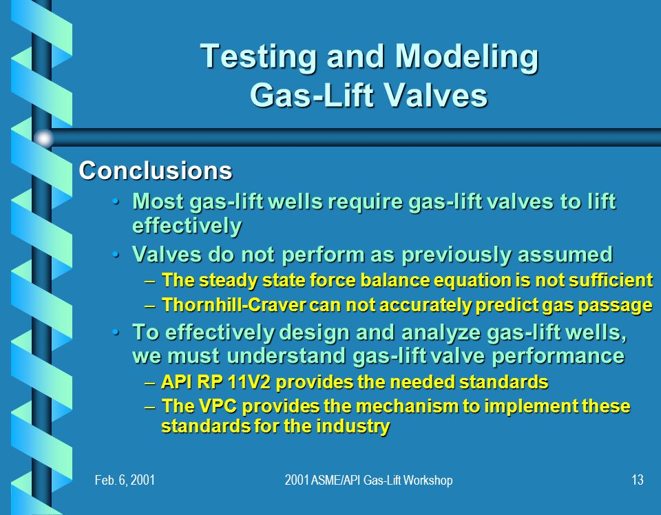 Testing and Modeling Gas-Lift Valves