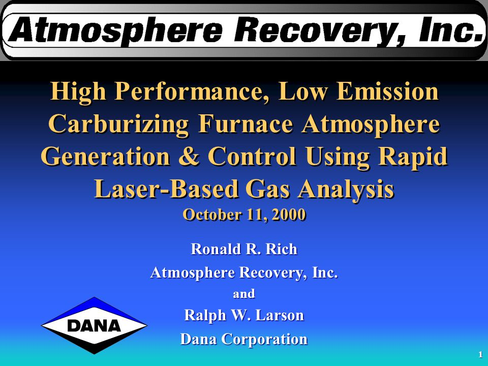 Atmosphere Recovery, Inc.