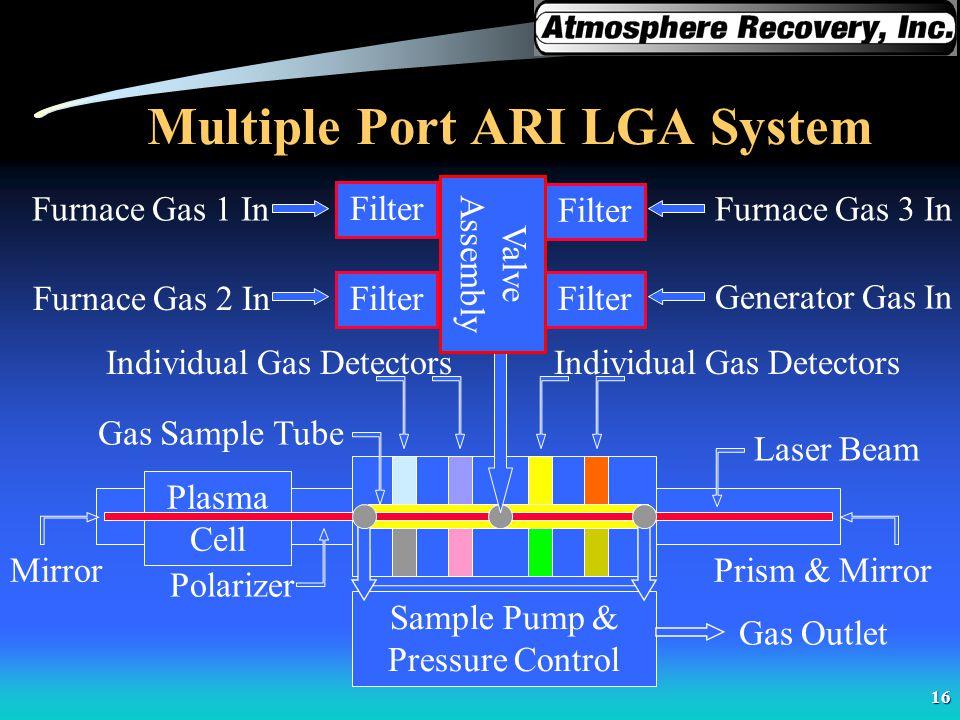 Multiple Port ARI LGA System