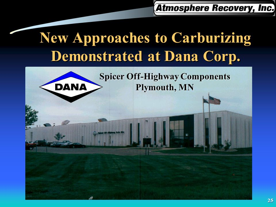 New Approaches to Carburizing Demonstrated at Dana Corp.