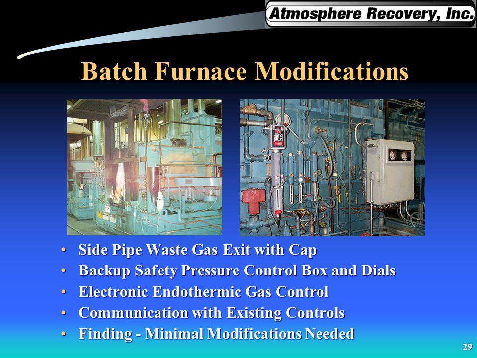Batch Furnace Modifications