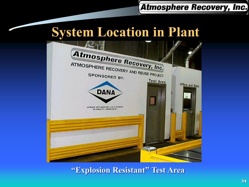 System Location in Plant