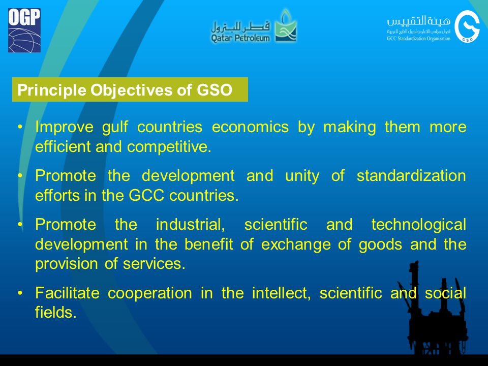Principle Objectives of GSO