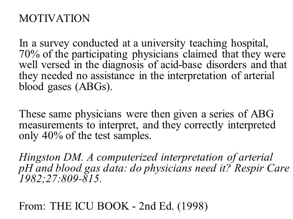 From: THE ICU BOOK - 2nd Ed. (1998)