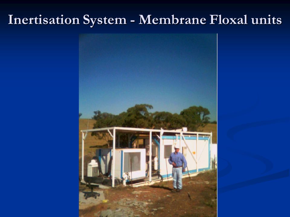 Inertisation System - Membrane Floxal units
